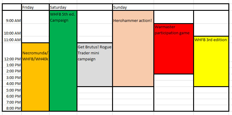 oldhammer-weekend-schedule